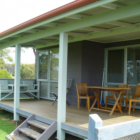 Montague cottage outside